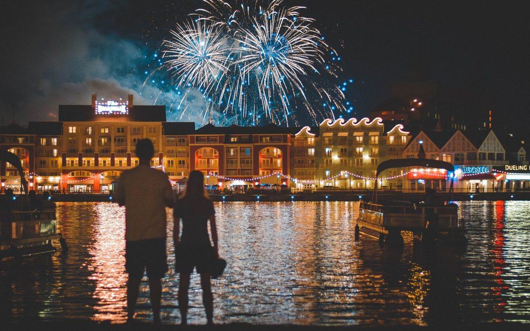Die beste Location für ein Feuerwerk